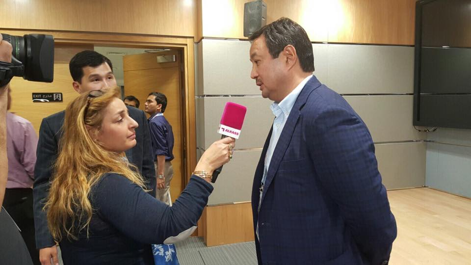 Mr. Serik Konakbayev - Interview