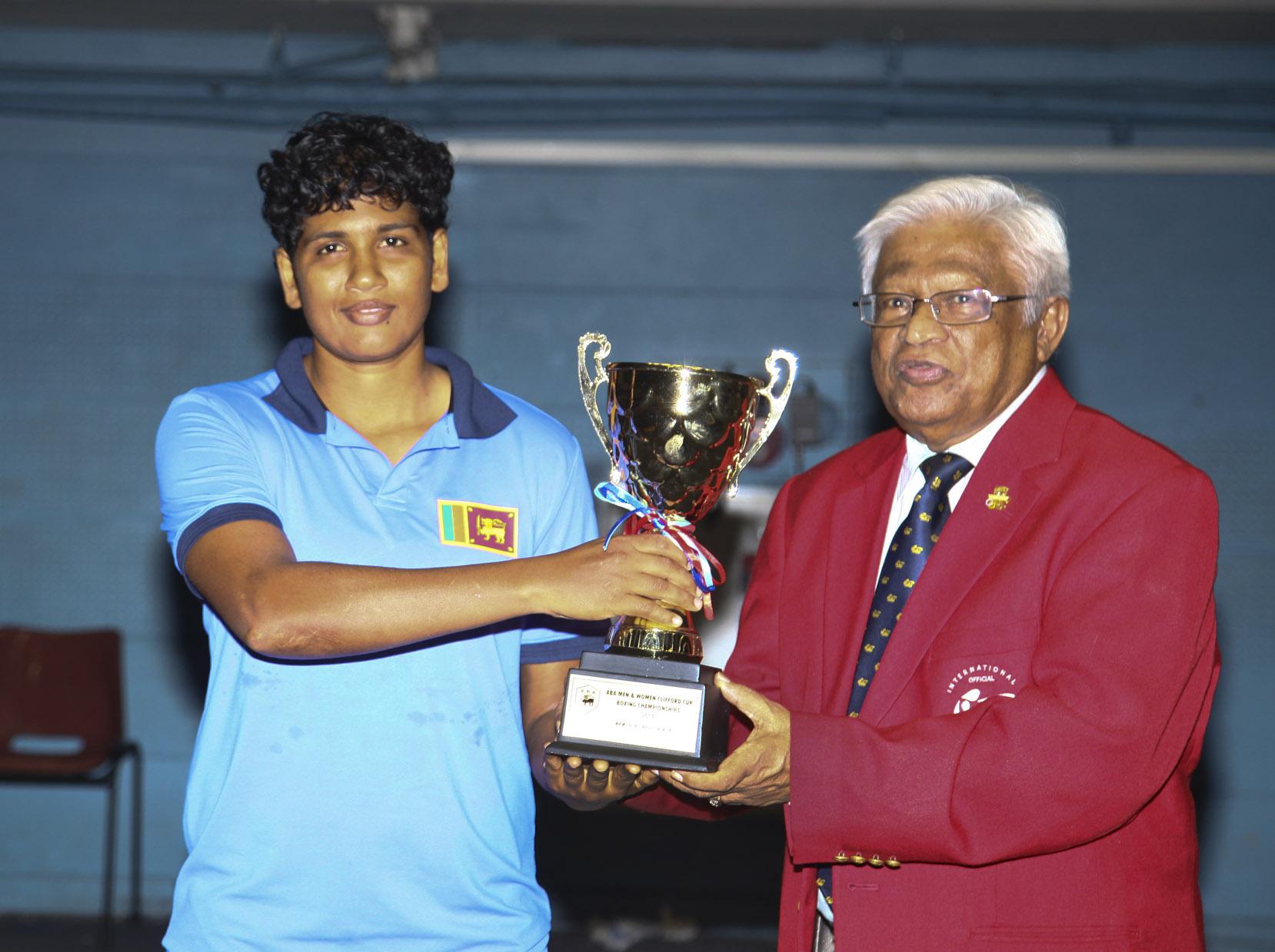 Clifford Cup - Best Boxer Niranjala Senanayake64Kg@Casuline
