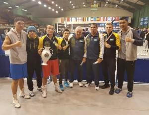 Kazakh team in Debrecen