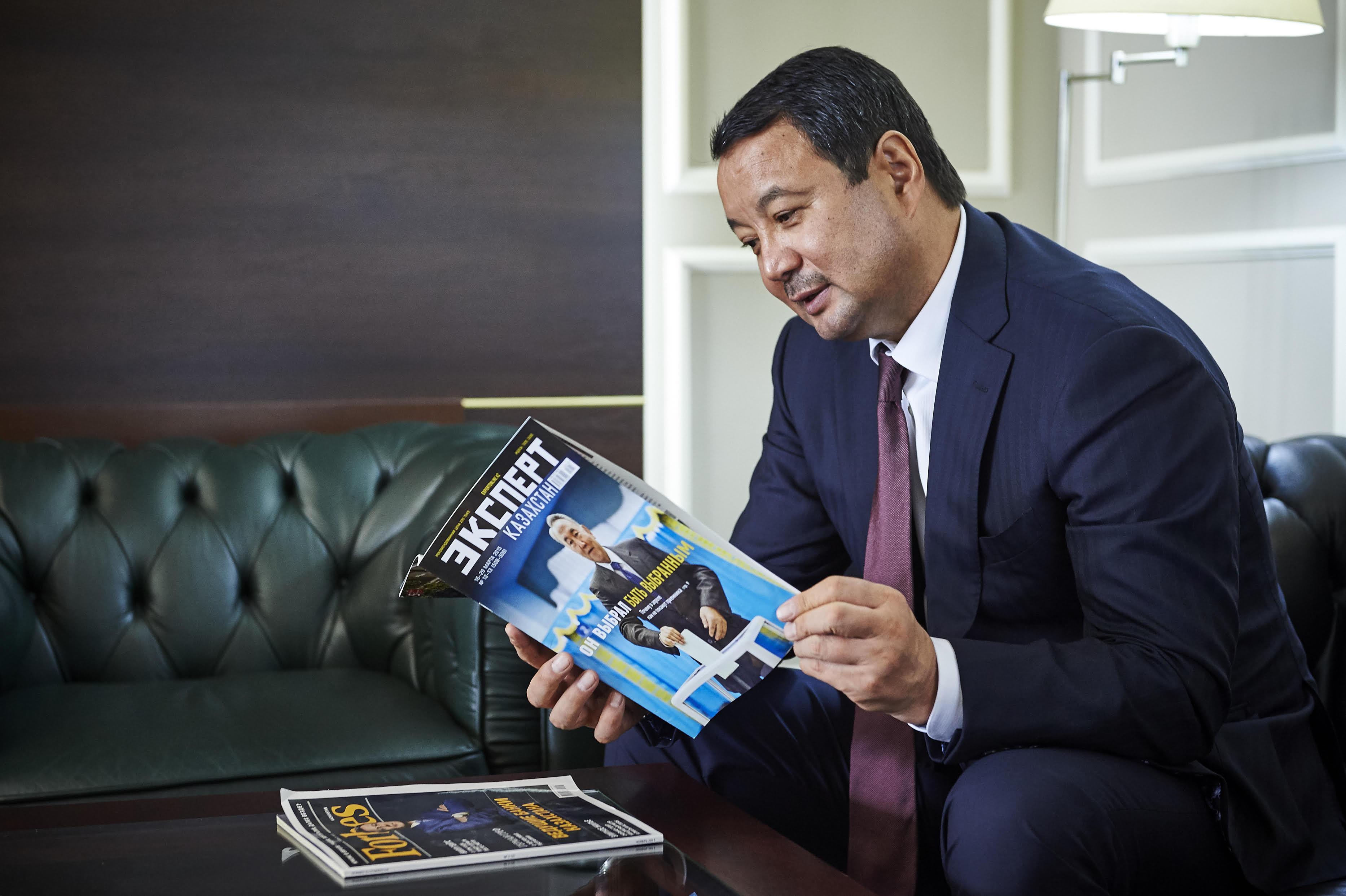 Izturgan Aldauev - Mr. Serik Konakbayev