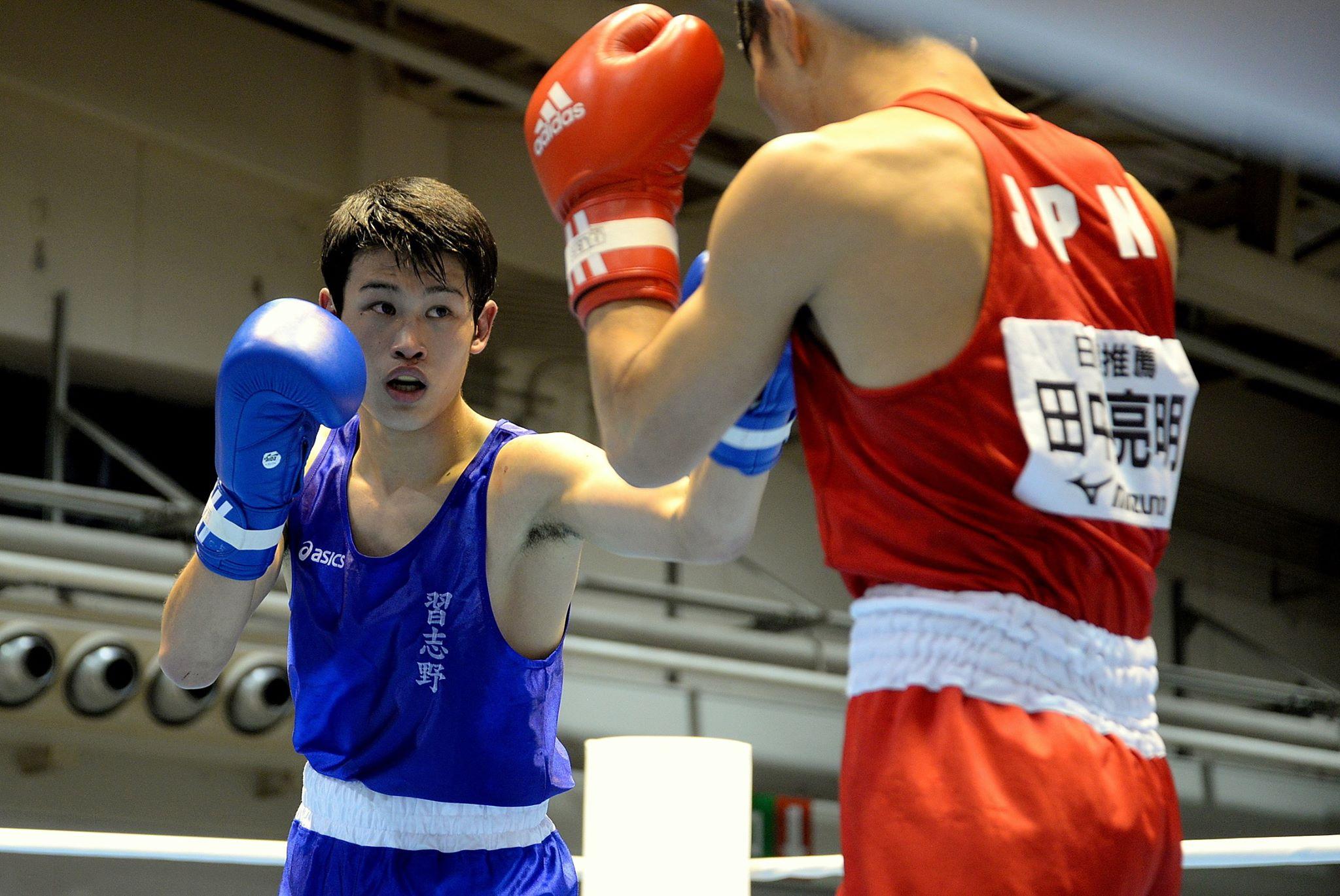 Japanesee teen boxing
