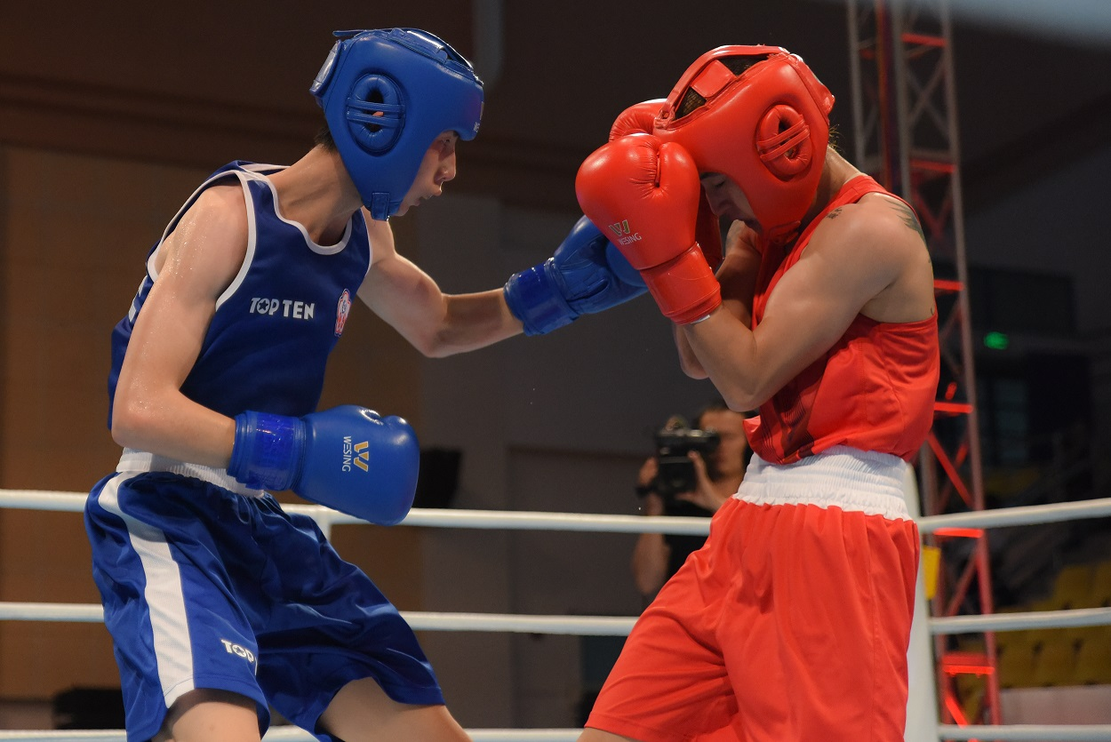 The asian games test event is running in indonesia where chinese the boxing tournament of the asian games test event began in the indonesian capital in jakarta which is the active preparation for the local organizers stopboris Choice Image
